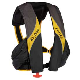 Onyx® A/M-24 Deluxe Automatic/Manual Inflatable Life Jacket