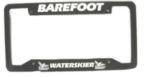 Barefoot Co. License Plate Frame